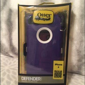 iPhone 6 Otter Box Defender case. Brand new!
